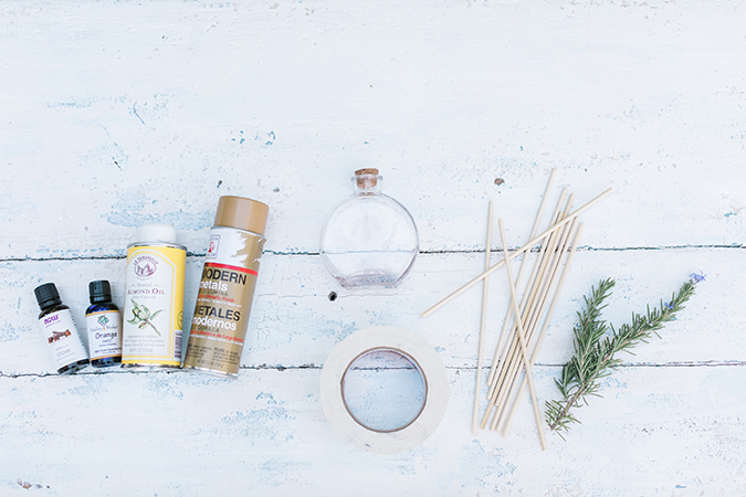 DIY scent diffuser supplies