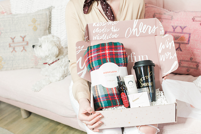 the winter FabFitFun box on LaurenConrad.com