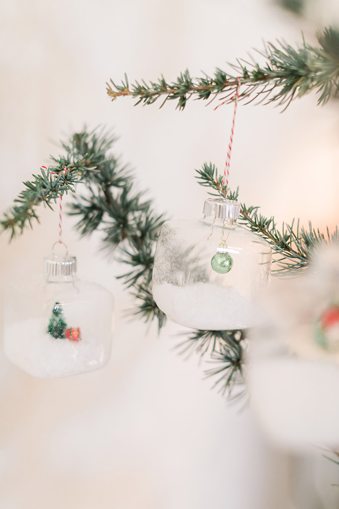 How to make the cutest Christmas ornaments