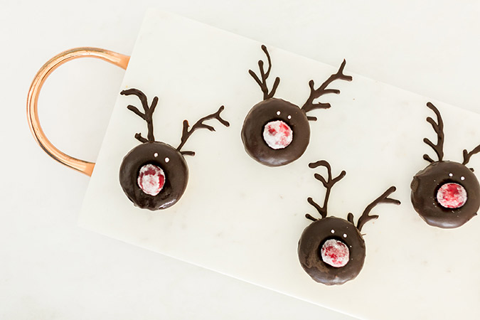 Rudolph donut recipe by Lauren Lowstan