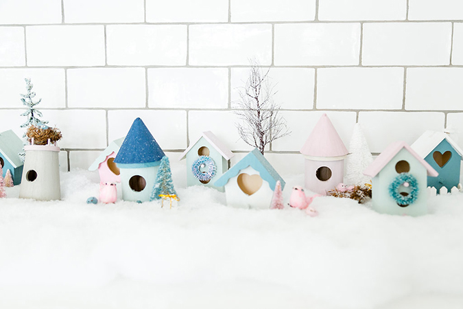 how to create the quaintest little village this season