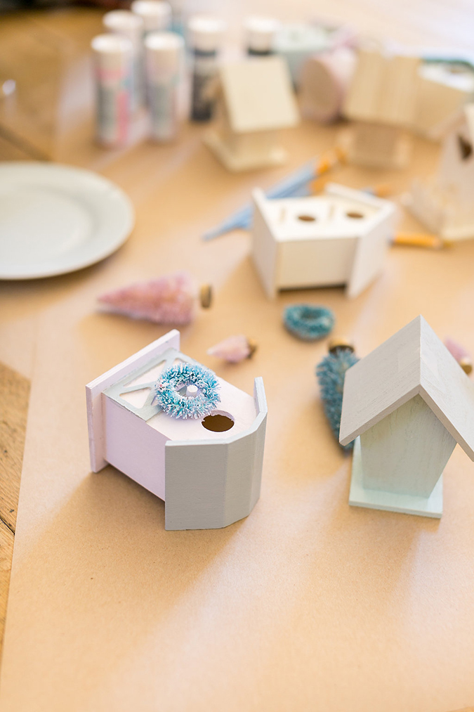 how to make your own holiday village