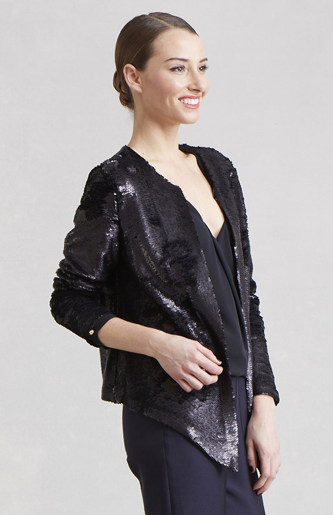 Paper Crown Sequin Jacket