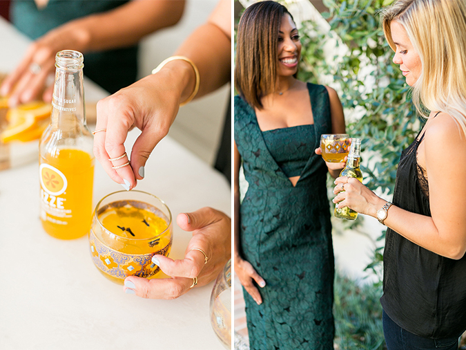 @IZZEofficial Sparkling Juice Cocktail Recipes | LaurenConrad.com