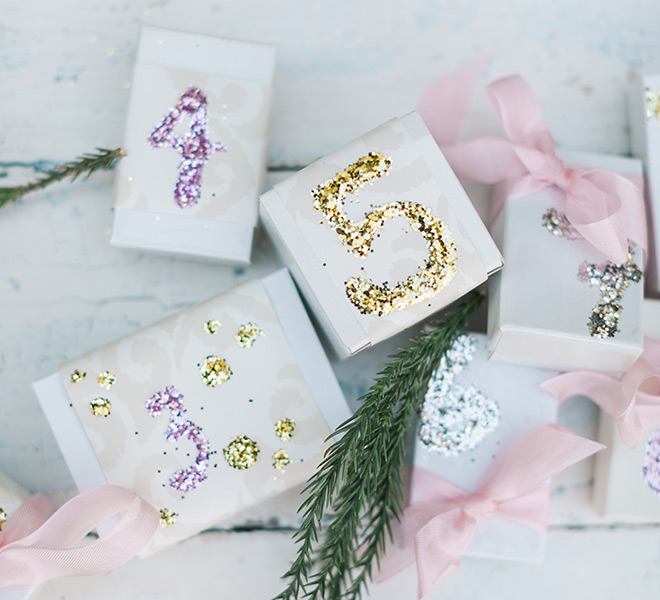 Holiday Special: DIY Advent Calendar Christmas Ornaments