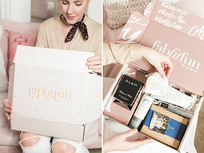Team LC's winter FabFitFun box