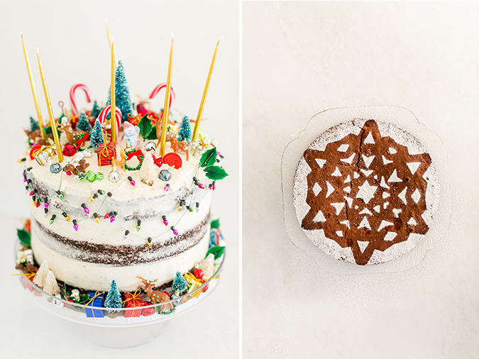 holiday cake decorating ideas