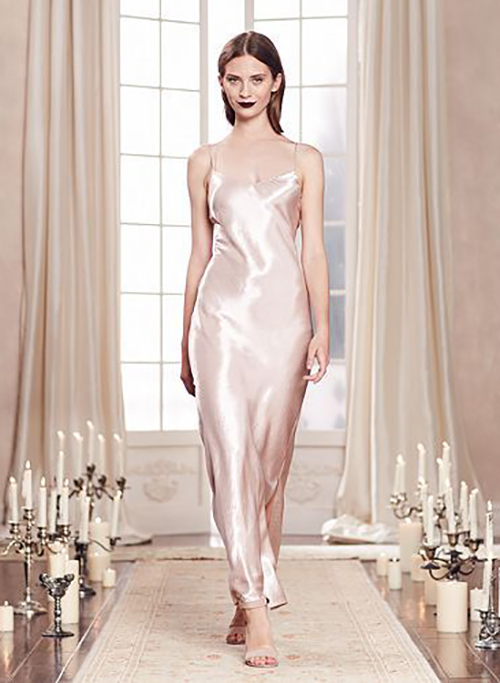 LC Lauren Conrad Runway Satin Dress