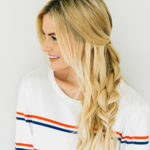 Hair How-To: Half-Updo Messy Braid
