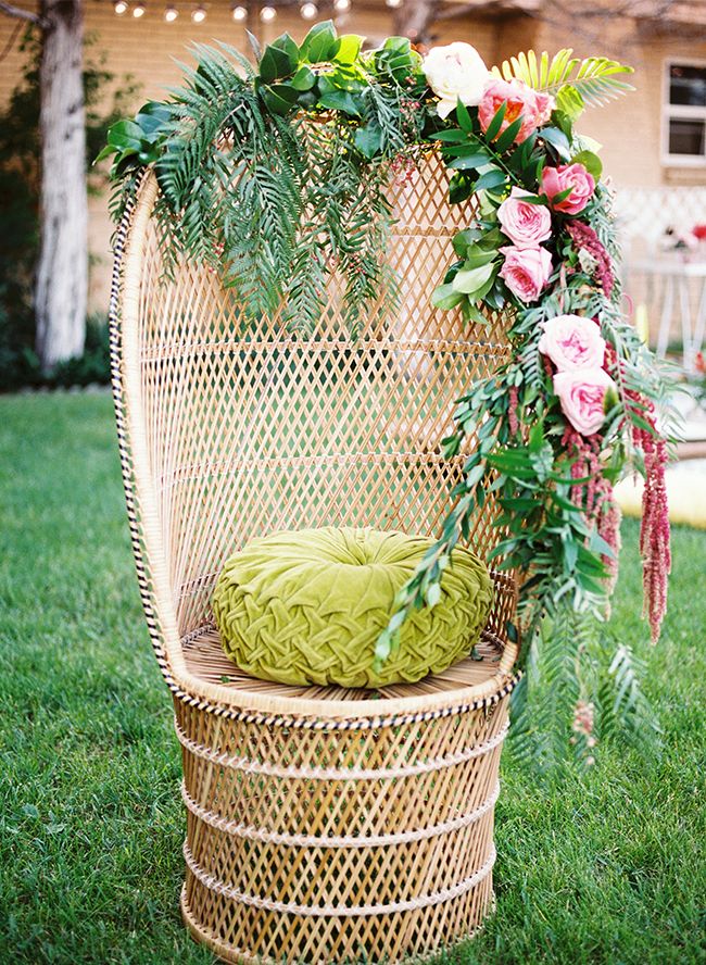 See this boho birthday party via Inspired By This on LaurenConrad.com