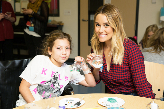 Lauren Conrad at the Children's Hospital Los Angeles