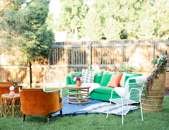 The prettiest boho birthday party