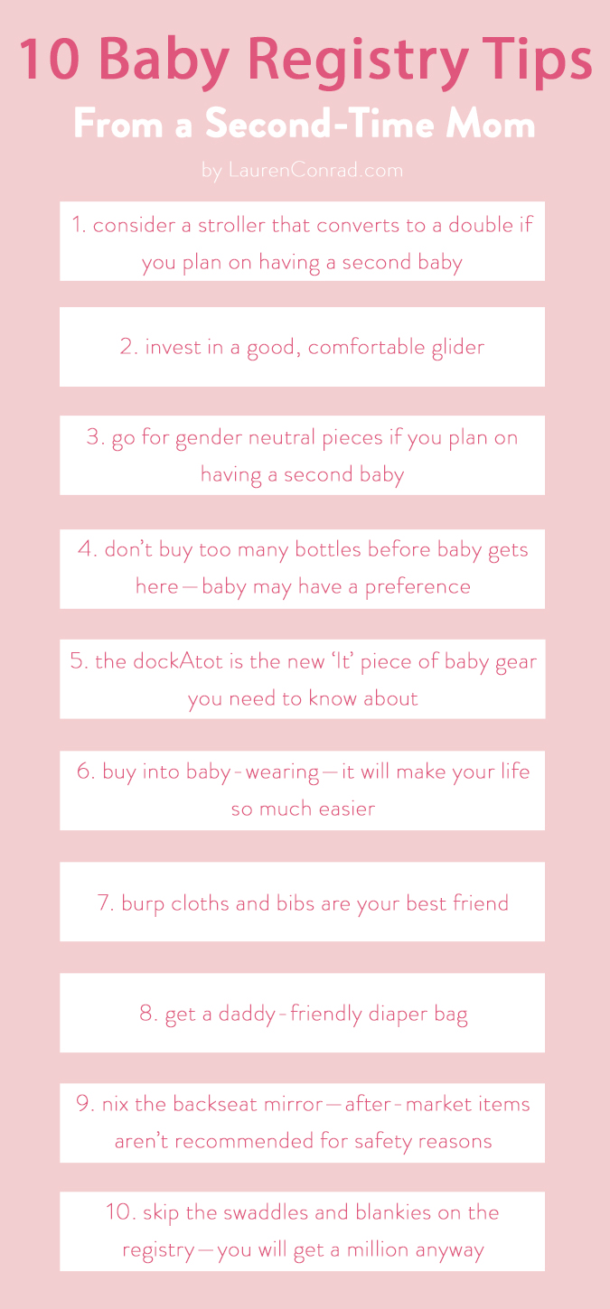All the must-haves for baby