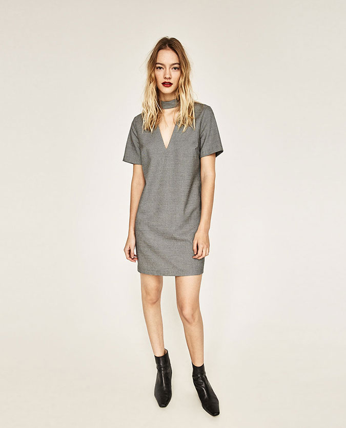 Zara choker dress