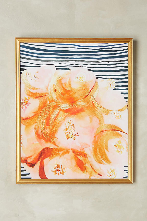 Anthropologie Flowers Wall Art