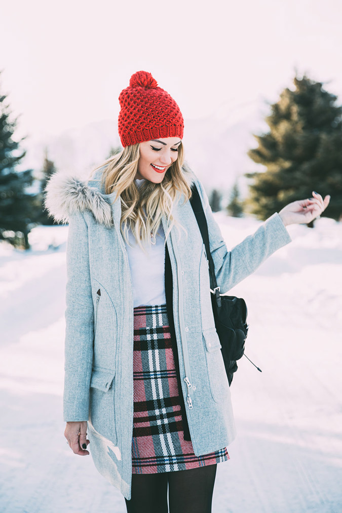 Dash of Darling in the cutest winter look