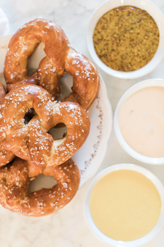 New York style pretzels inspired by NYFW