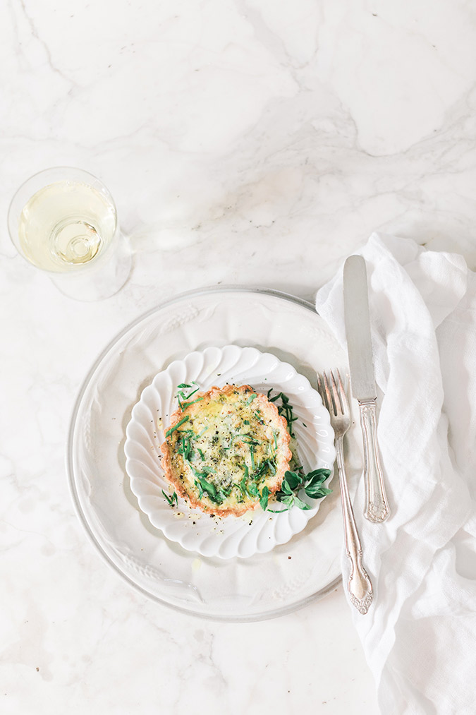 A healthy little quiche recipe