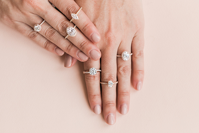 how to design beautiful engagement rings like our favorites from james allen - Lauren Conrad Wedding Ring