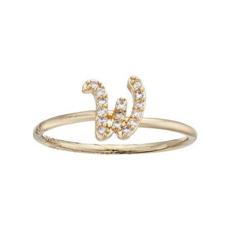 LC Lauren Conrad Monogram Ring