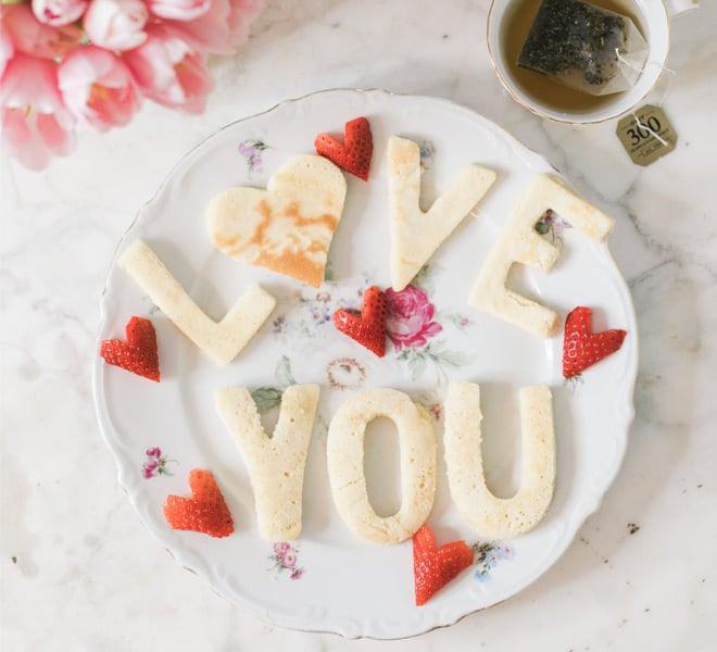 Inspired Idea: Love Letter Pancakes