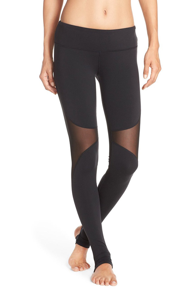 Alo 'Coast' Mesh Stirrup Leggings