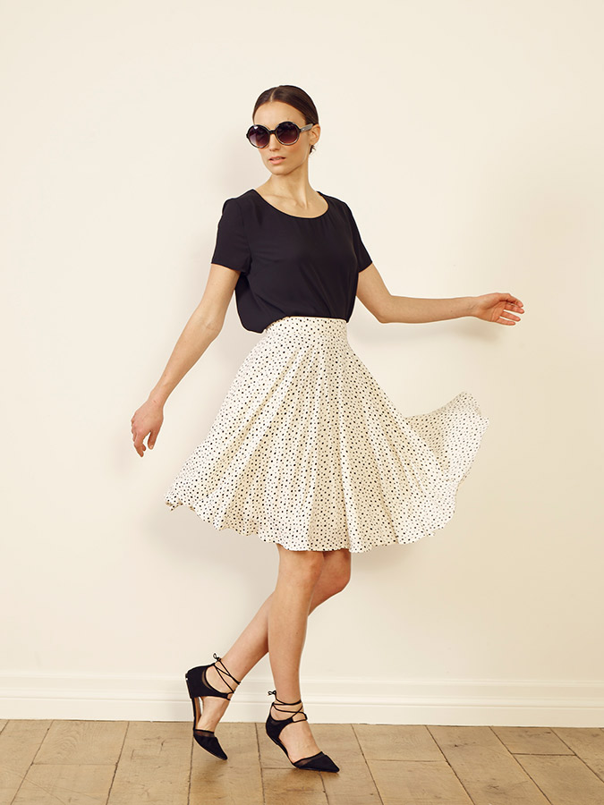 Paper Crown Nantes Skirt