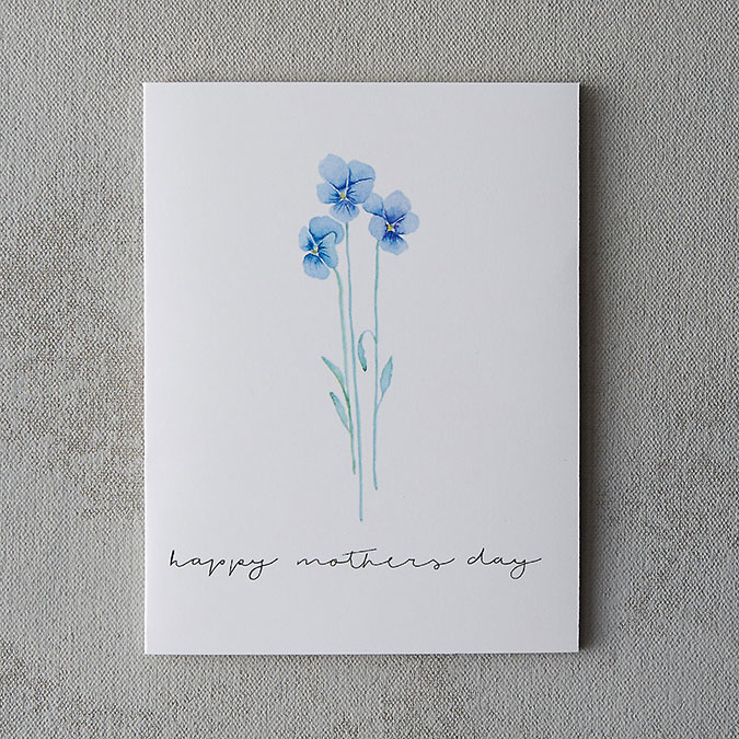 Terrain Mother's Day Card by Alexzandra Fajardo