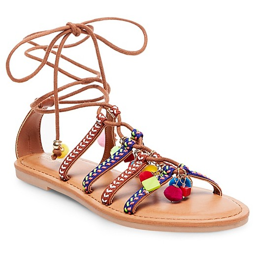 Mossimo Supply Gladiator Wrap Sandals