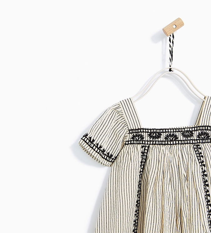 Zara Striped Toddler Dress