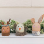 DIY: Animal Friend Easter Eggs