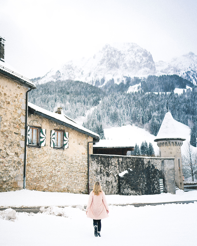 Switzerland travels featuring Paper Crown coat