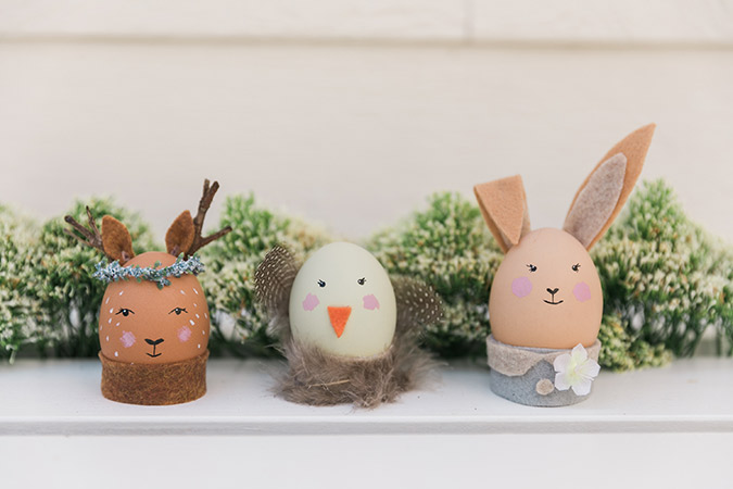 The cutest DIY easter eggs