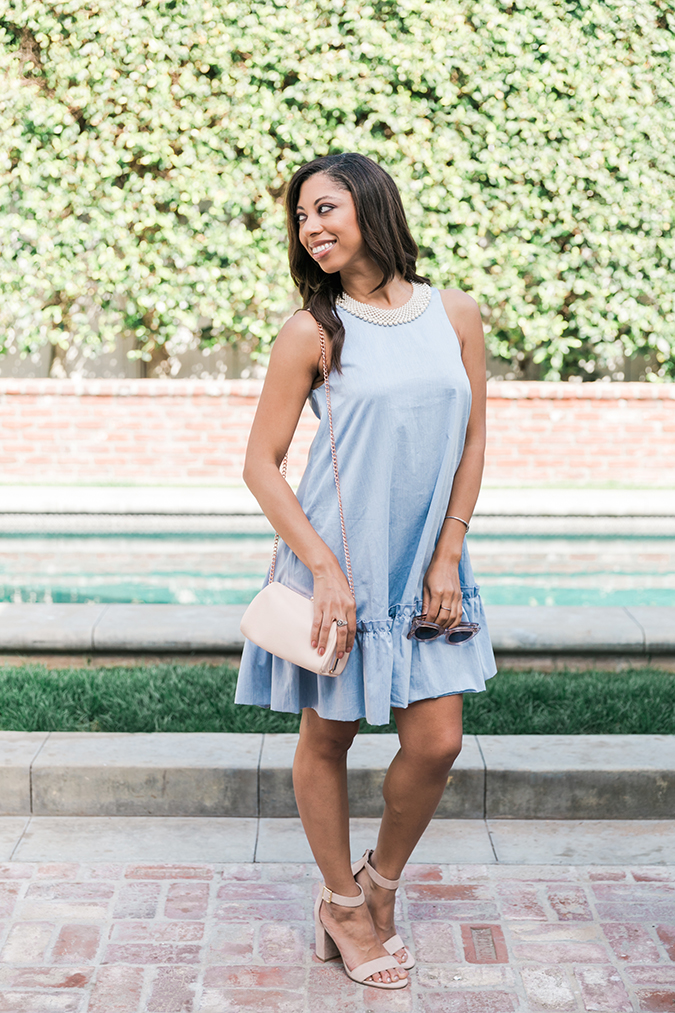 Paper Crown date night look featuring Dahab dress