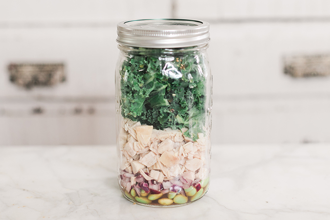 Kale Protein Power Salad
