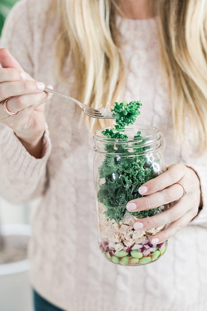 Kale Protein Power Salad