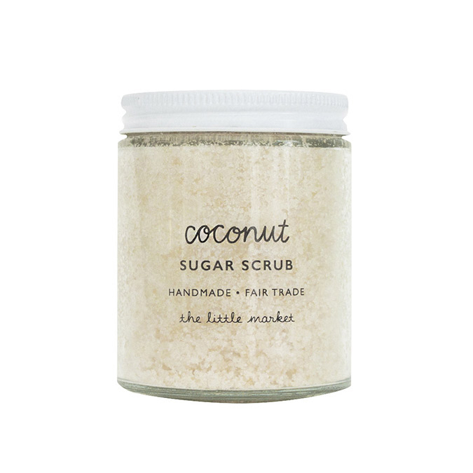 The Little Market Coconut Sugar Scrub