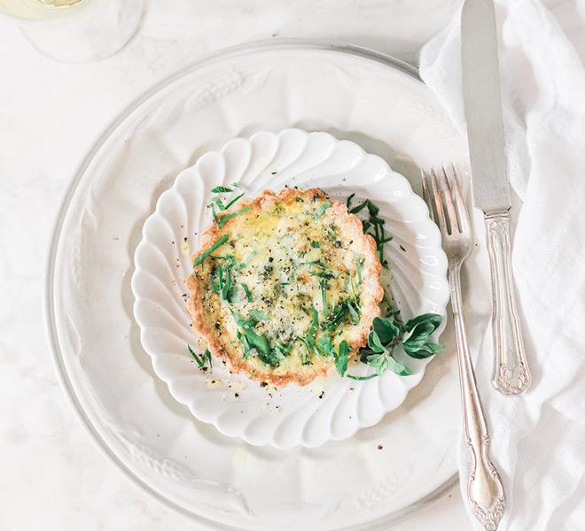 Recipe Box: Mini Spinach Asparagus and Mushroom Leek Quiches