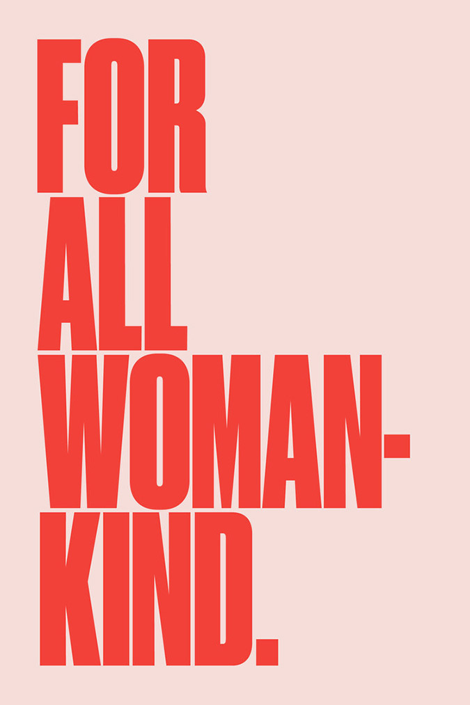 For All Womankind Poster