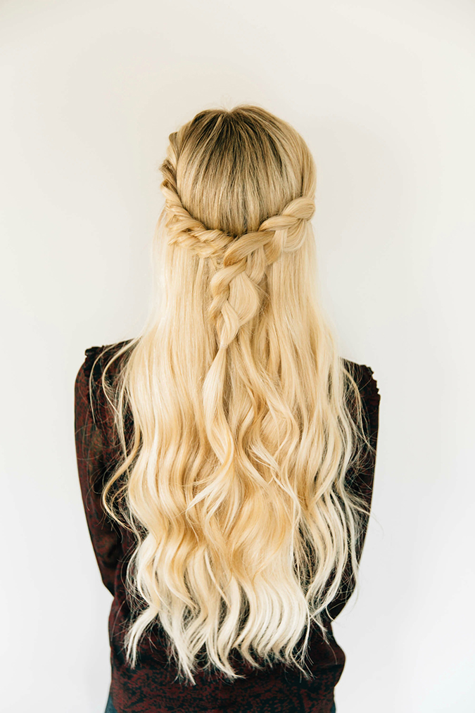 triple twist and braid combo via Barefoot Blonde