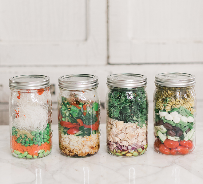 Recipe Box: Four Delicious Jar Lunches