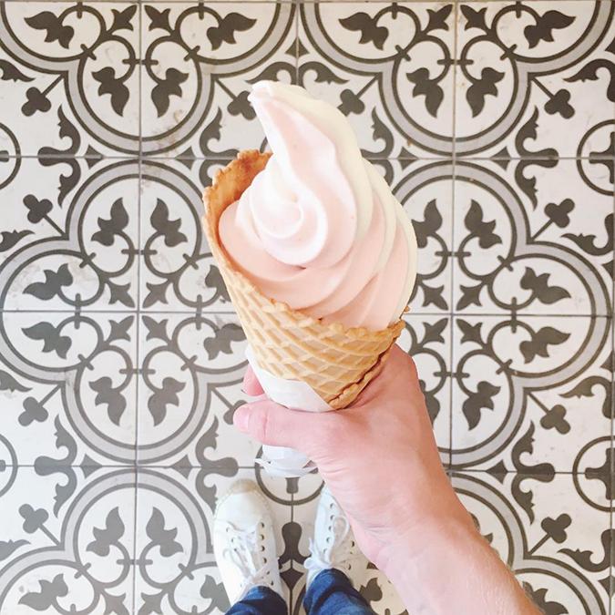 Magpie's Softserve ice cream in Silverlake