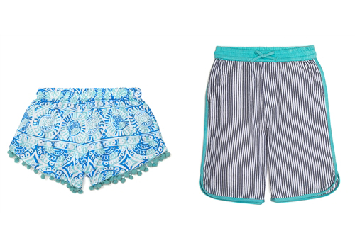 Masala Baby Girl's and Boy's Shorts