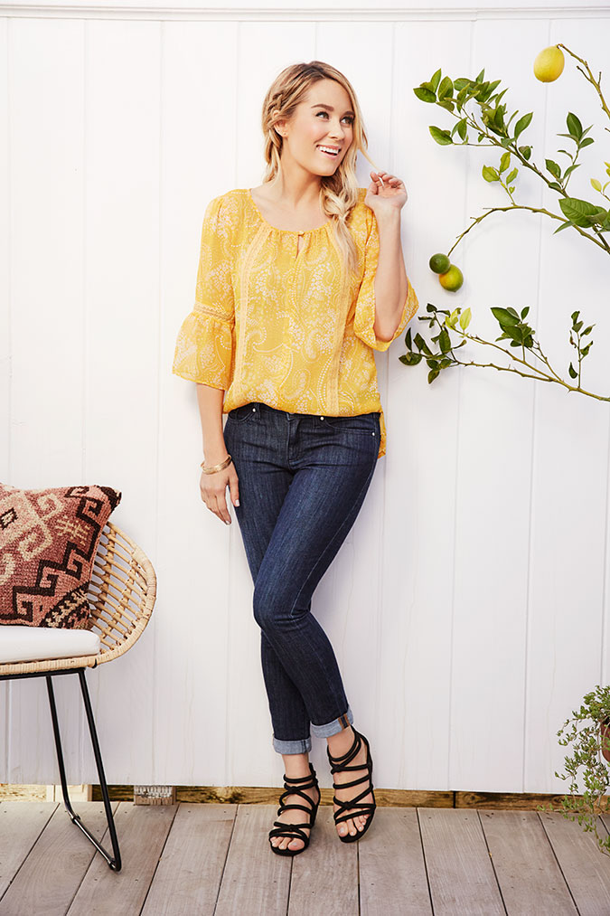 Lauren Conrad's April collection for Kohl's
