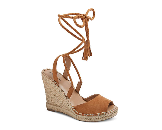 Target Lace-Up Wedge Heel