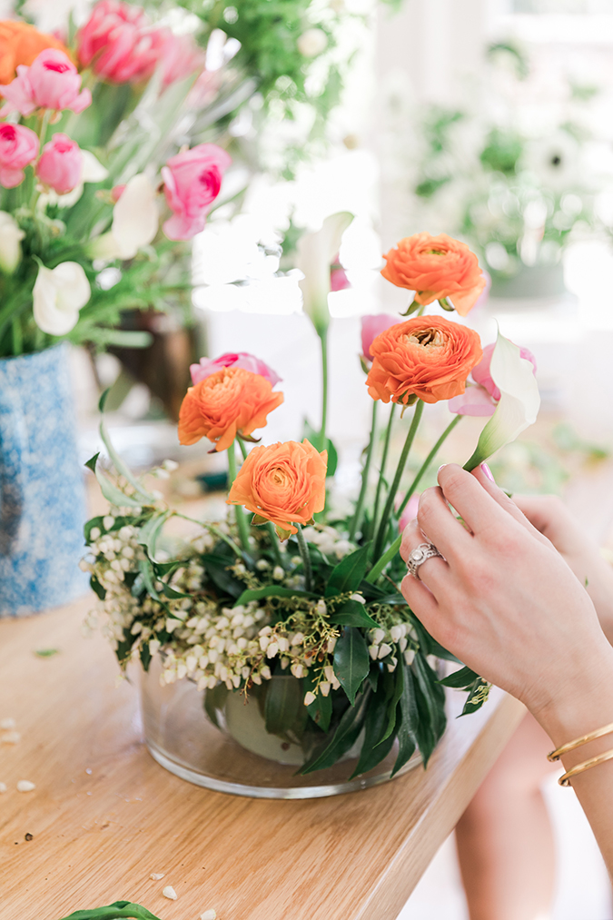 DIY floral arrangements for Easter or any celebration