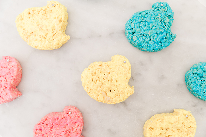 Peeps inspired Rice Krispies Treats