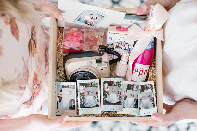 A new way to ask your girls to be your bridesmaids