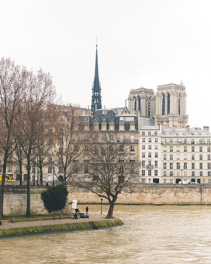 Overlooking the River Seine