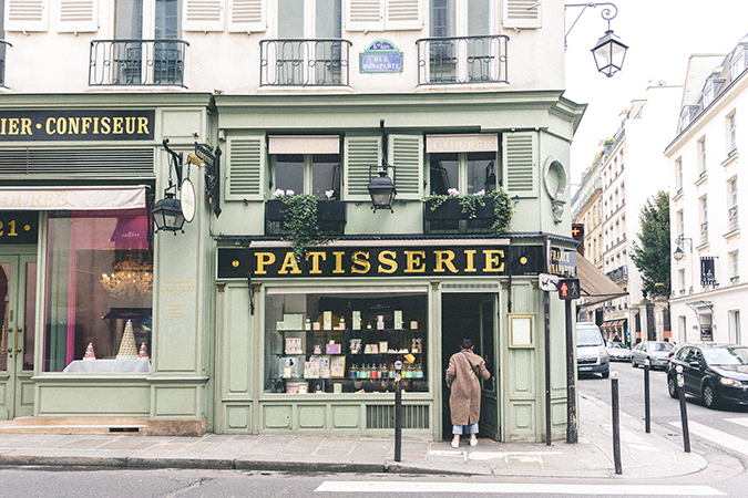French Patisserie via Find Us Lost